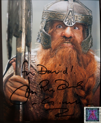 John Rhys Davies Autograph