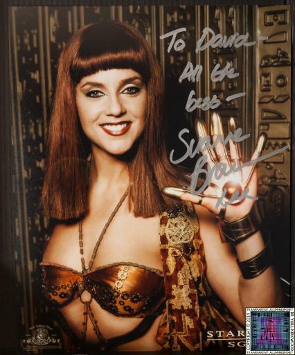 Suanne Braun Autograph