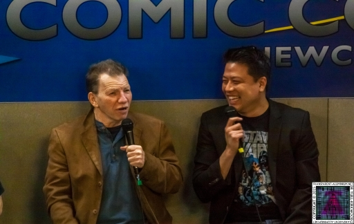 Max Grodénchik and Garrett Wang at Comic-Con (3).jpg