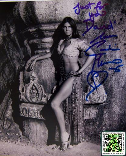 Caroline Munro Autograph