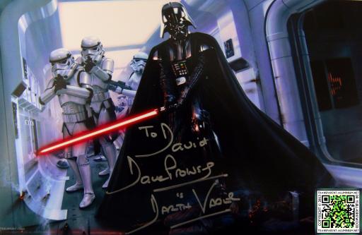 Dave Prowse Autograph
