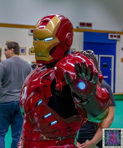 Iron Man at Screen-Con 2014