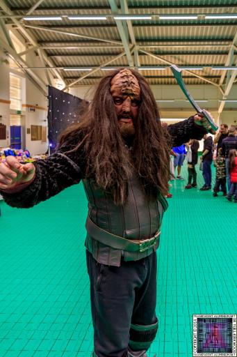 Klingons at Screen-Con 2014
