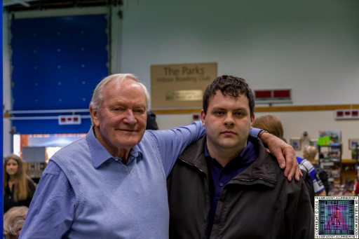 Me and Julian Glover at Screen-Con 2014