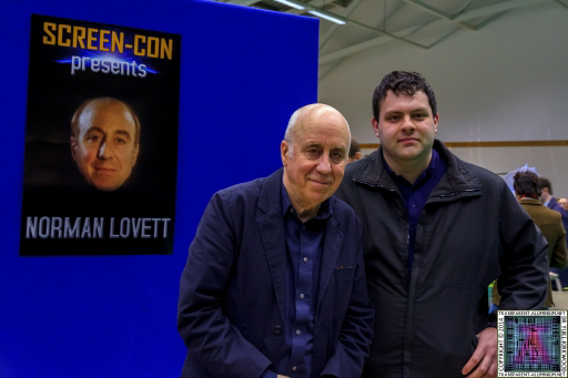 Me and Norman Lovett at Screen-Con 2014