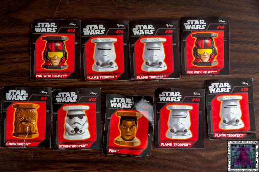 Star Wars Mystery Blind Bags Cards (2)