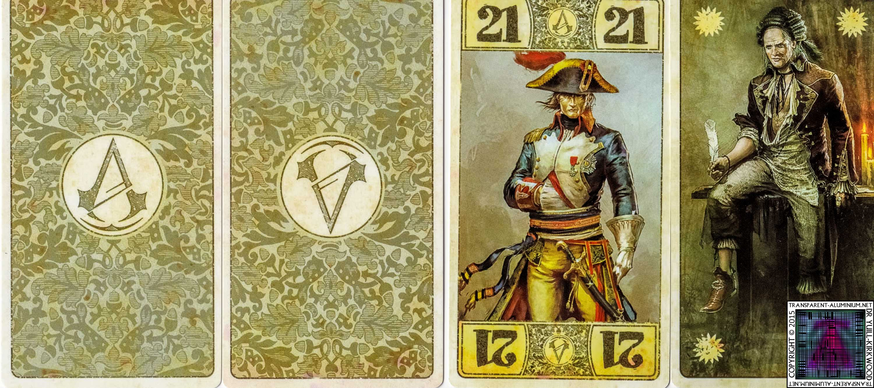 Assassin's creed poker cards
