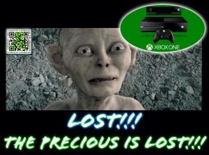 XBOX ONE Gollum The Precious is Lost