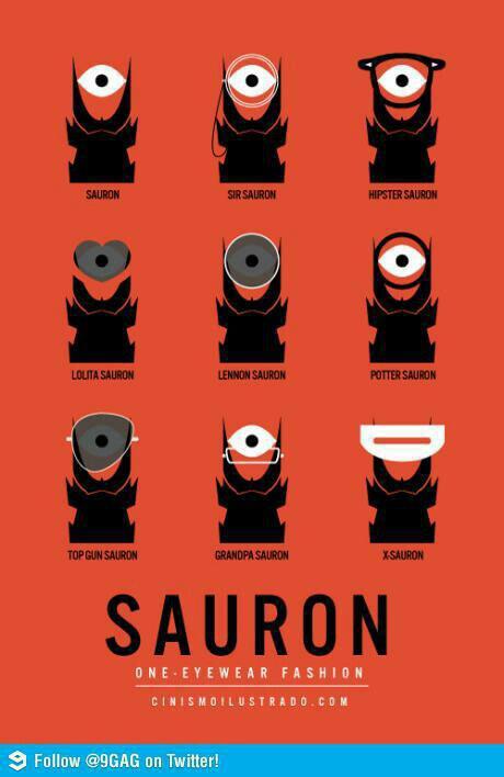 Sauron One Eyewear Fashion