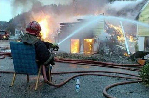 lazy-fireman