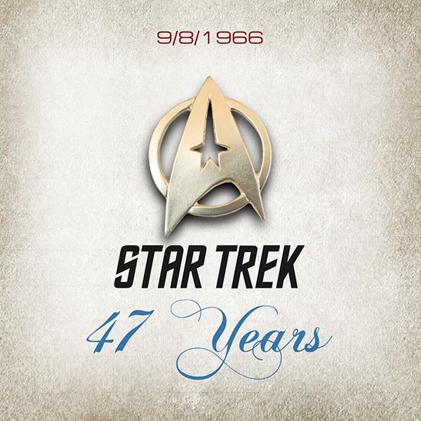 Star Treks 47th Birthday