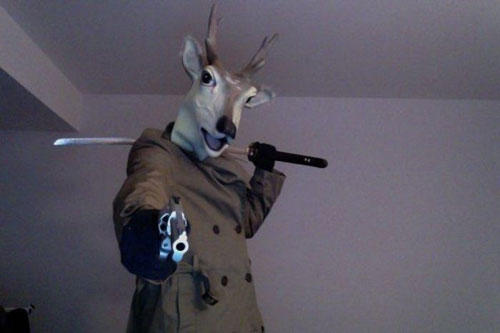 funny-wtf-deer-sword-gun