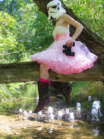 WTF cant explain Stormtrooper Dress