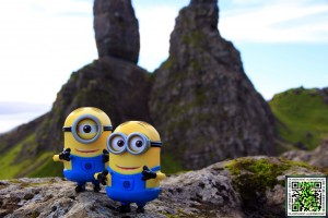 The Minions at The Old Man Of Storr.
