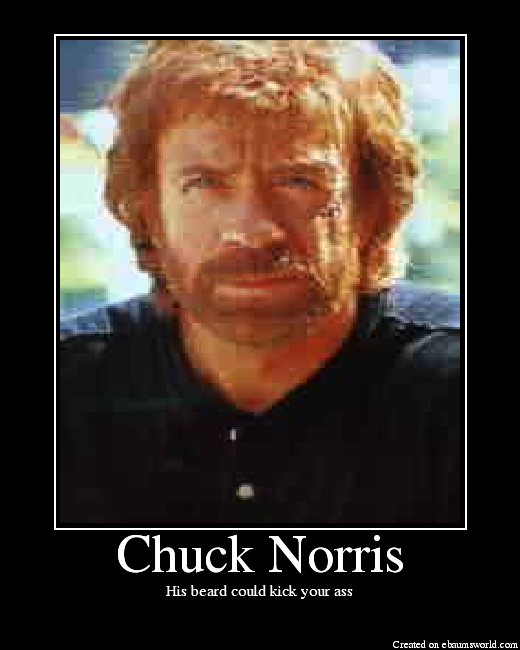 picture imp chuck norris tuesday  transparentaluminium, Birthday card