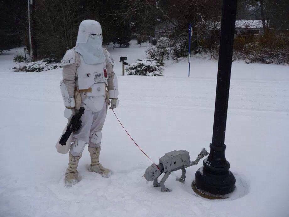 Star Wars Walking the AT-AT