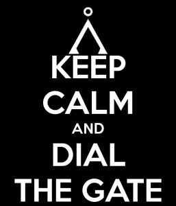 Keep Calm and Dial the Gate