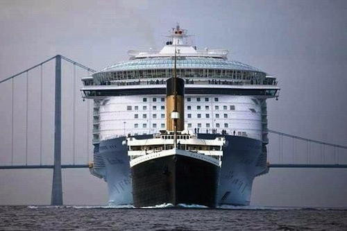 Titanic Size Comparison
