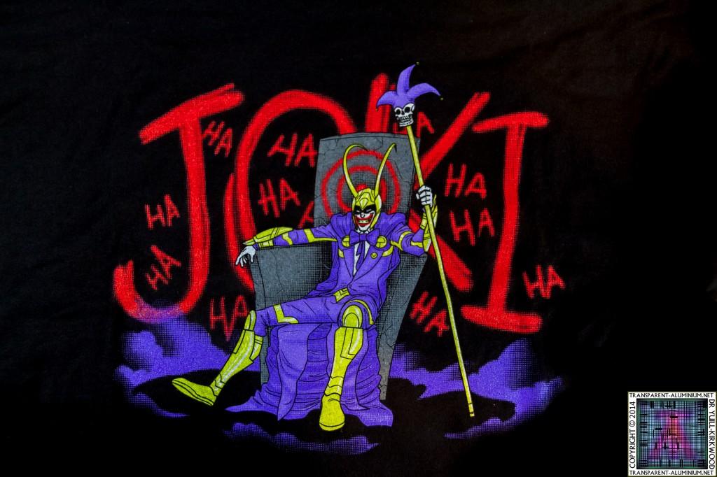 Loot Crate July 2014 Villain T-Shirt