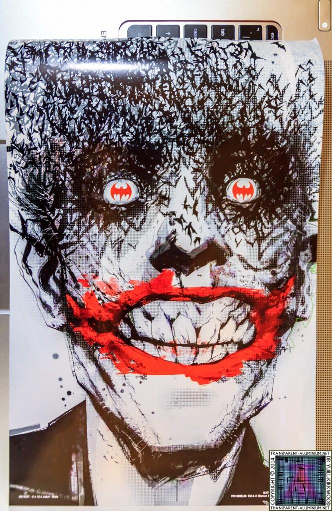 Loot Crate July 2014 Villain Poster Joker