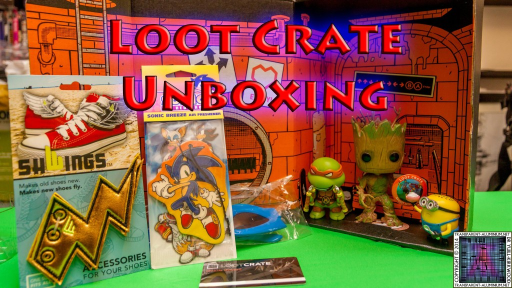 Loot Crate - August 2014 Heroes Cover