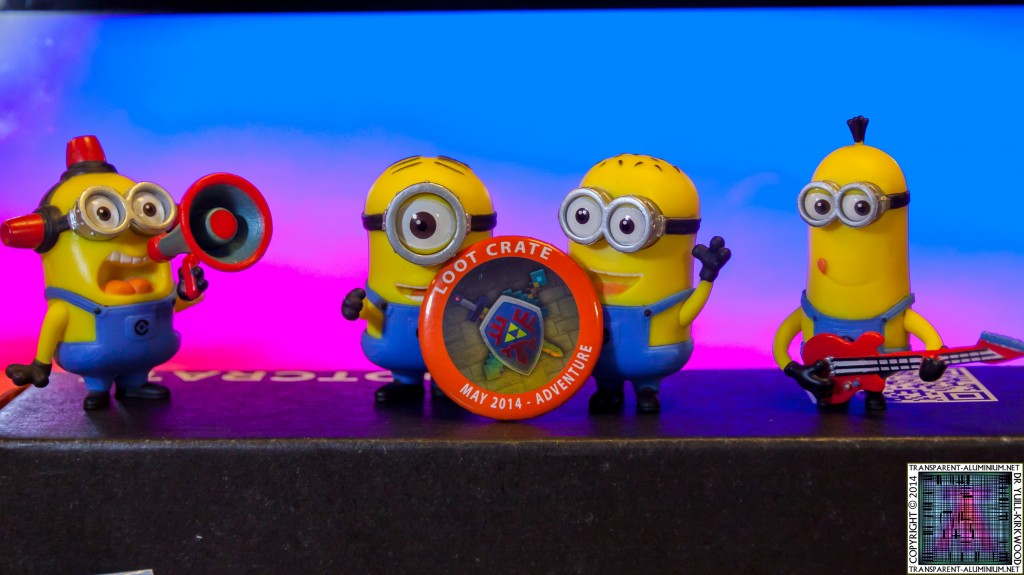 Loot Crate – May 2014 Adventure Minions