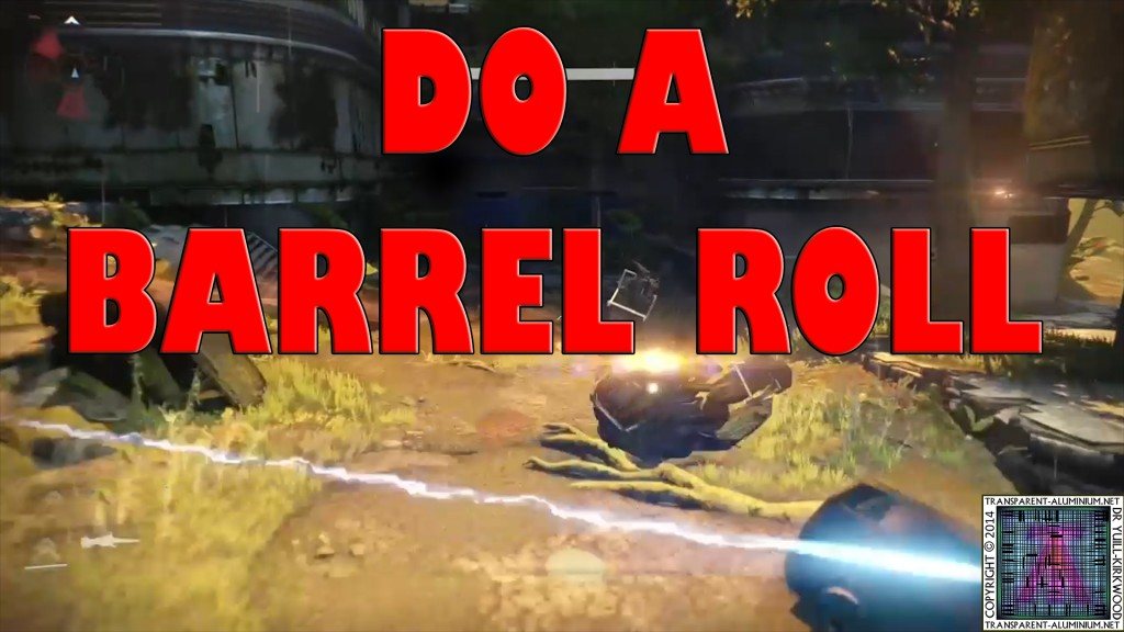 Destiny Sparrow Barrel Roll