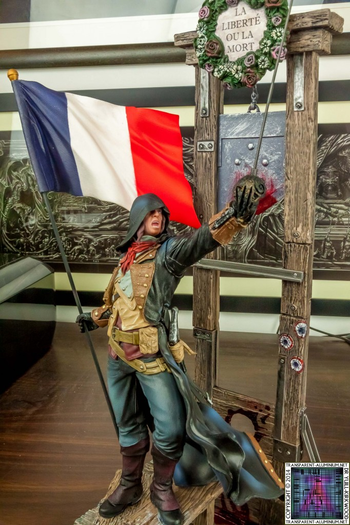 Assassins Creed Unity Guillotine Edition Statue