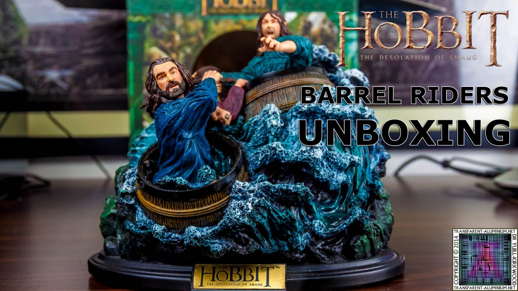 The Hobbit The Desolation of Smaug Barrel Riders Unboxing