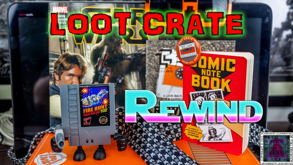Loot Crate  January 2015 Rewind thumb