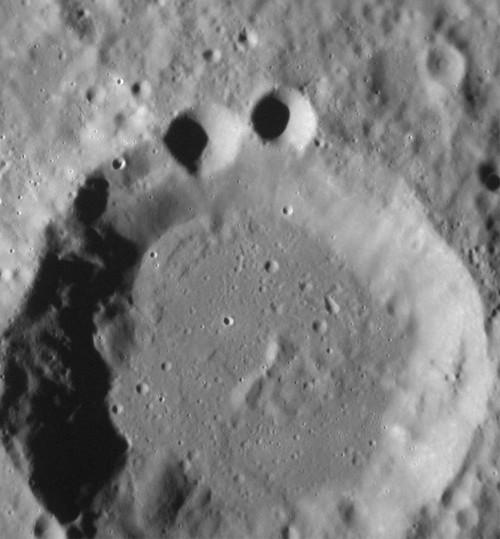 Cookie Monster Mercury Crater