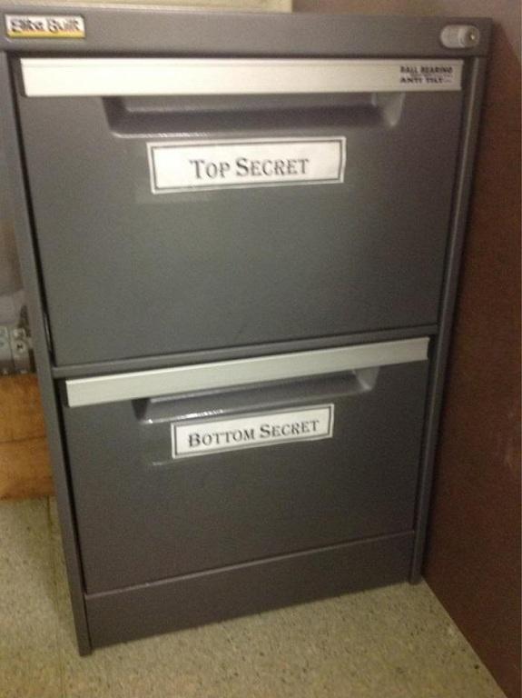 Top Secret Bottom Secret