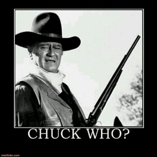 Chuck Who? The Duke Wins