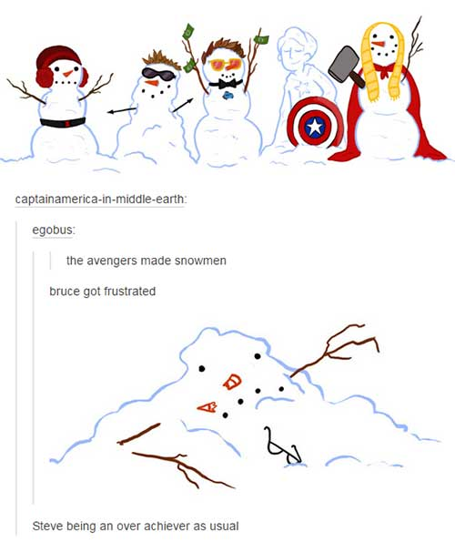Funny Things Tumblr S Ever Said About The Avengers