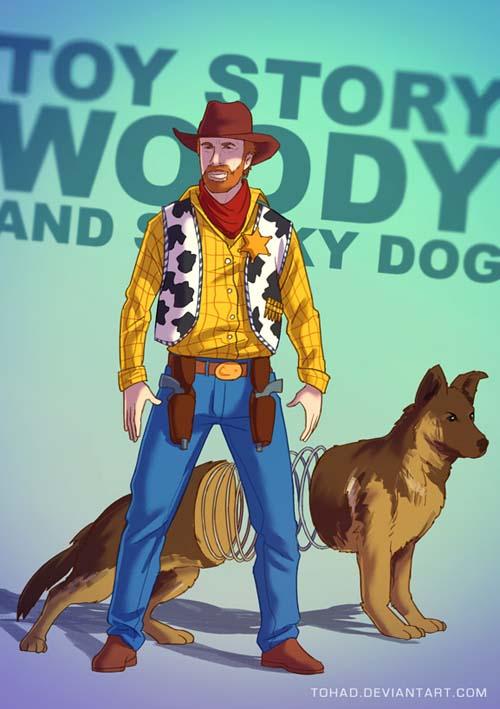 Walker Texas Woody