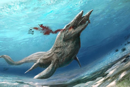 extinct-ocean-tylosaurus