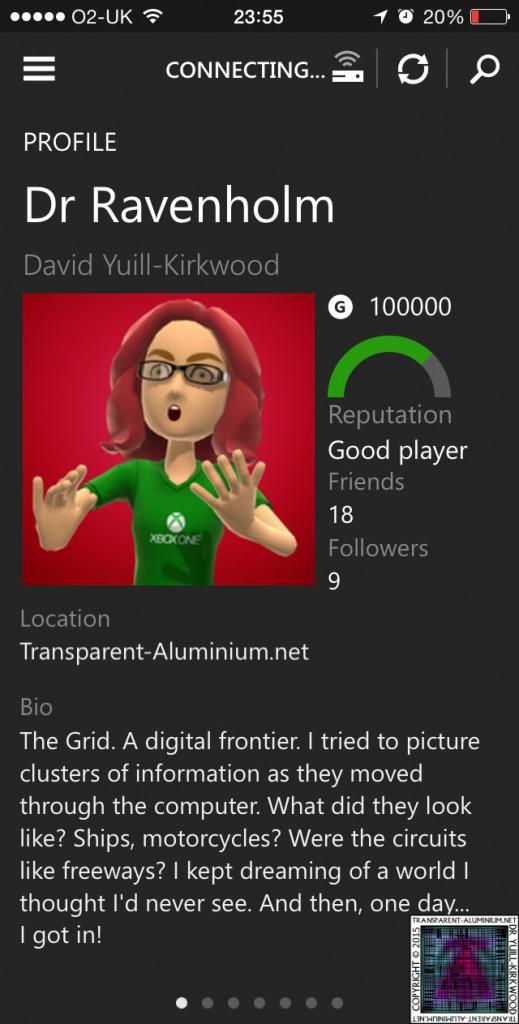 Dr Ravenholm 100K XBOX Gamerscore