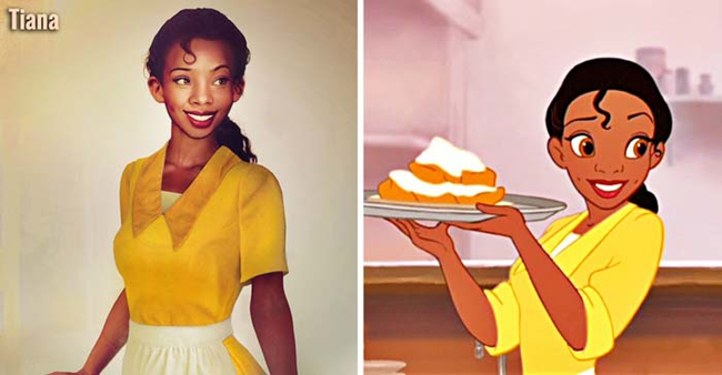 Tiana The Princess and the Frog