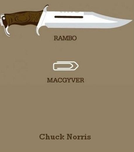 Rambo Vs Macgyver Vs Chuck Norris