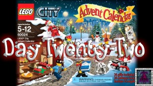 LEGO City Advent Calendar 60024 thumb - Day 22