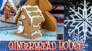 Christmas Gingerbread House - Lets Build thumb