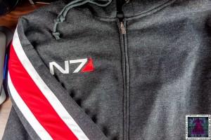 Mass Effect N7 Armor Stripe Hoodie (2)