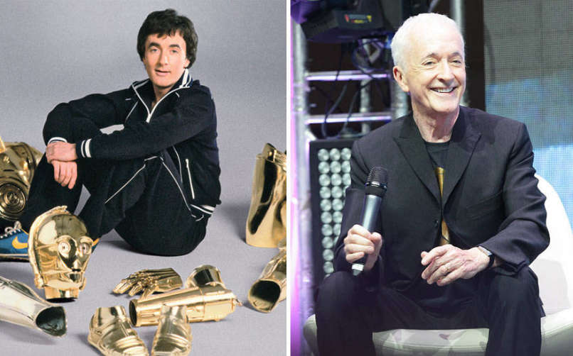 Anthony Daniels as C-3PO