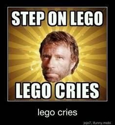 Step On LEGO LEGO Cries