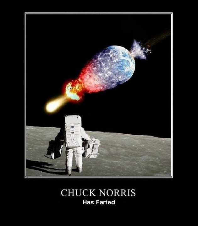 Chuck Norris Has Farted