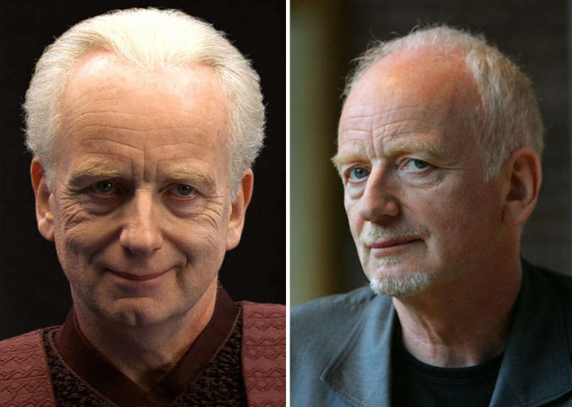 Ian McDiarmid as Palpatine