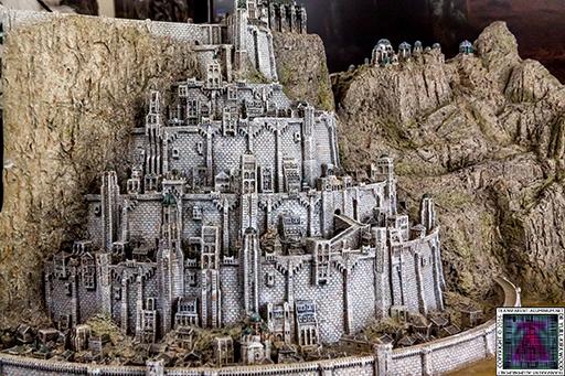 Minas Tirith The Great Citadel Of Gondor Weta (12) 512