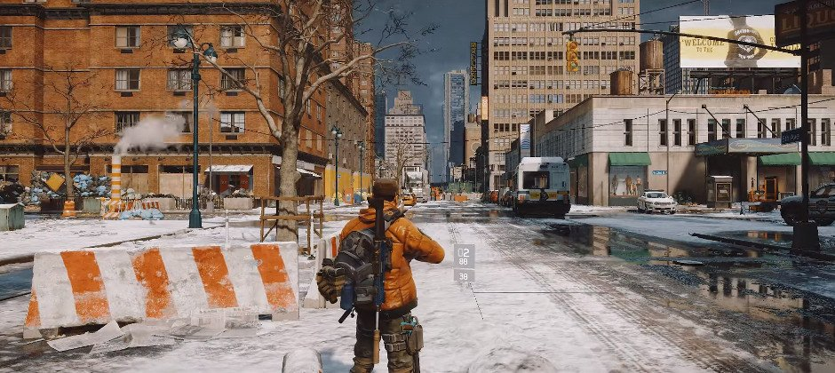 The Division time-lapse video shows Manhattan melting and freezing