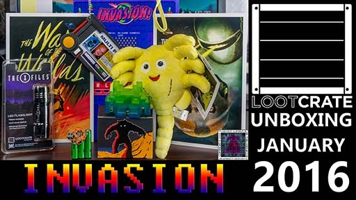 Loot Crate January 2015-Invasion