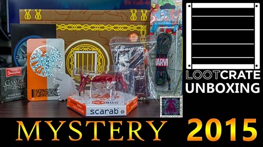 Loot Crate Mystery Crate 2015